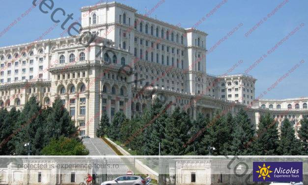 The Romanian Palace Of Parliament