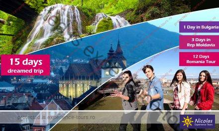 Private tour in Romania, Bulgaria, Rep Moldavia – 15 days