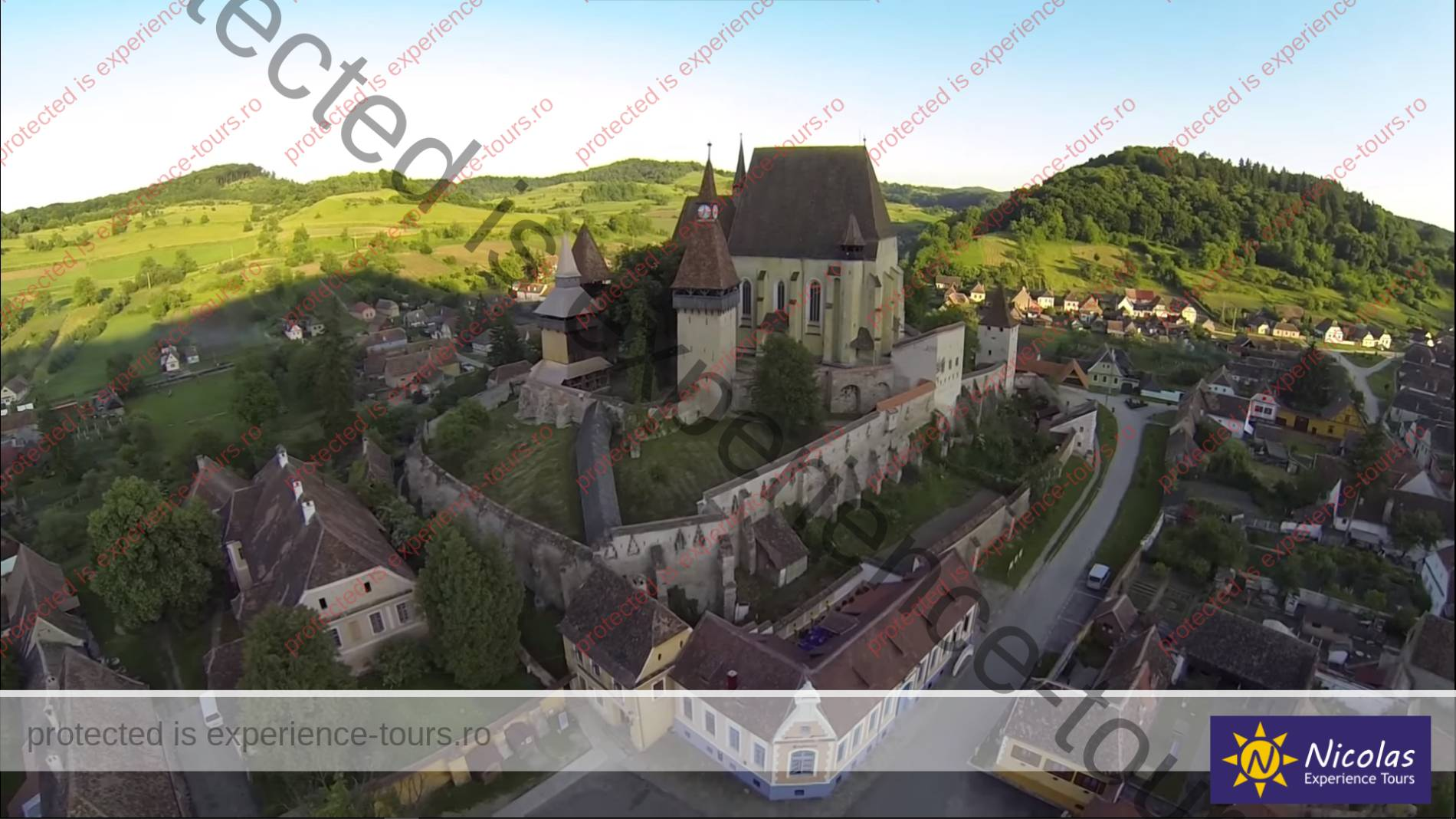 Fortified Church Biertan medieval tours in Romania
