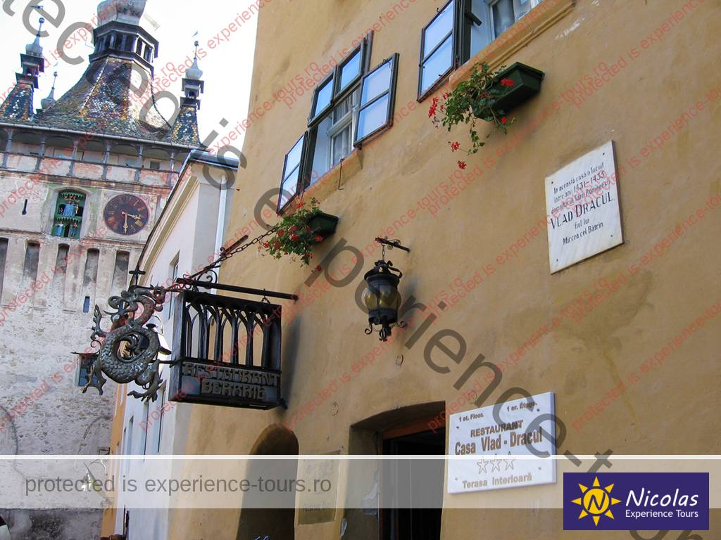 Restaurant Vlad The Impaler childhood-home