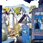 Private Trip To Maramures at Merry Cemeterry in Sapanta